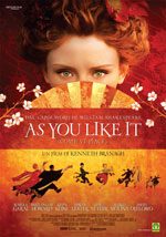 Locandina del film As you like it (come vi piace)