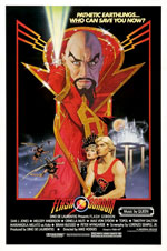 Locandina del film Flash Gordon