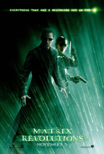 Locandina del film Matrix revolutions (2)