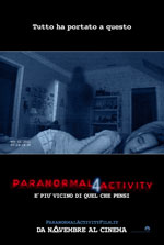 Locandina del film Paranormal Activity 4