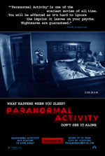 Locandina del film Paranormal Activity (US)