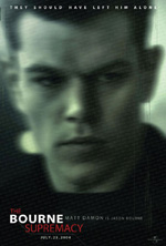 Locandina del film The Bourne supremacy (US) 1