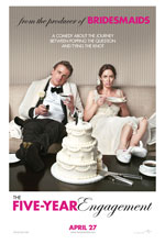Locandina del film The Five-year Engagement