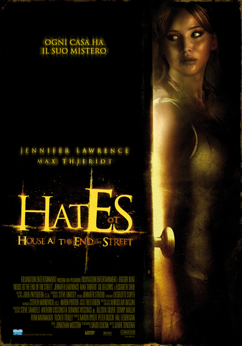 Poster del film Hates - House at the End of the Street