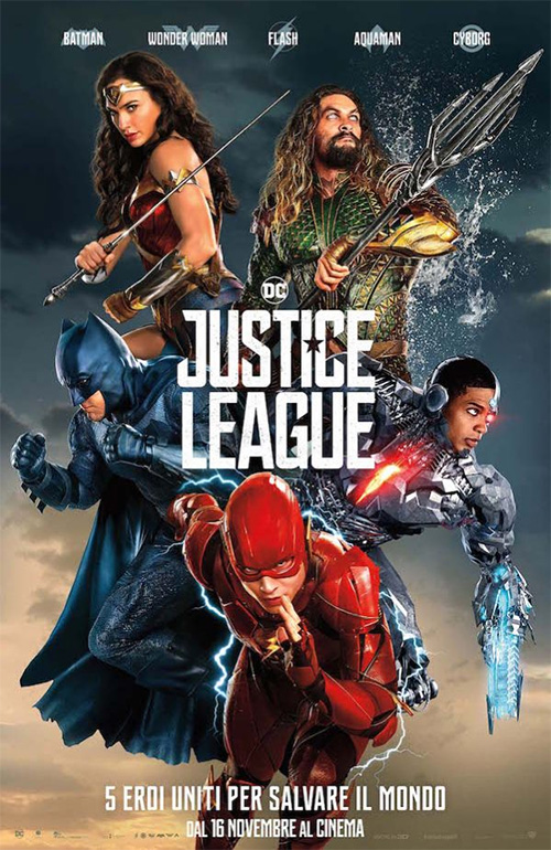 Poster del film Justice League
