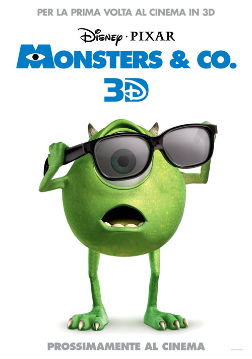 Poster del film Monsters & Co. (3D)