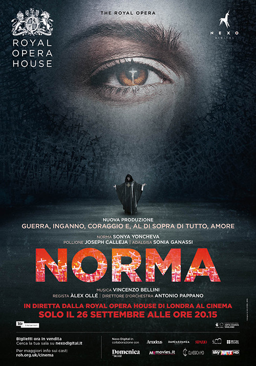 Poster del film The Royal Opera - Norma