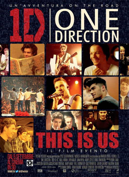 Poster del film One Direction: This Is Us