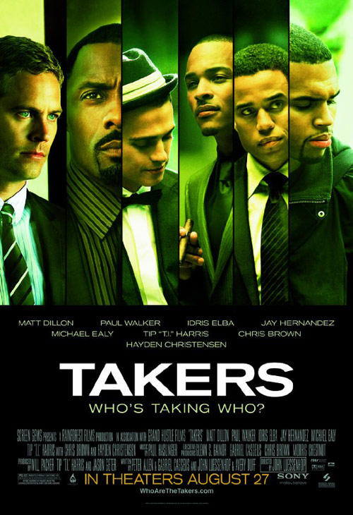Poster del film Takers