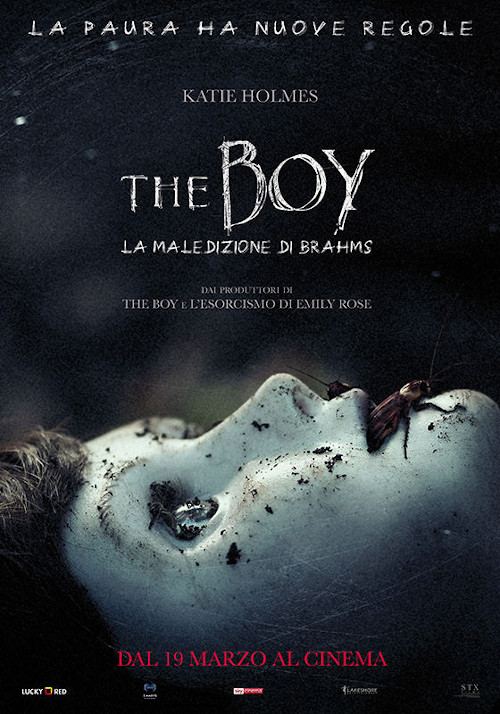 Poster del film The Boy - La maledizione di Brahms