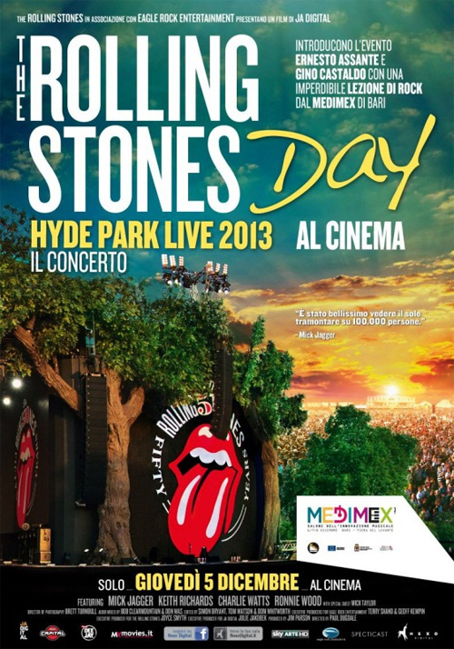 Poster del film The Rolling Stones Day - Hyde Park Live 2013