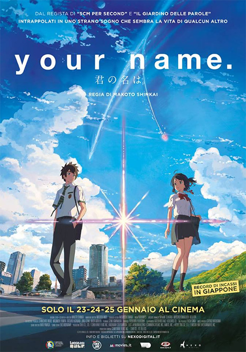 Poster del film Your Name